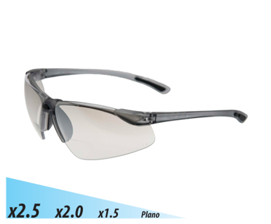 Picture of VisionSafe -101SM-2.0 - Silver I/O Mirror Safety Glasses