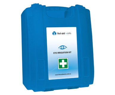 Picture of VisionSafe -FAWEIK - Wall Mountable Eye Irrigation First Aid Kit