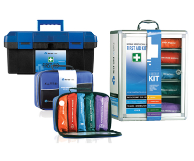 Picture of VisionSafe -FAWMP - MULTI-PURPOSE SMALL PORTABLE FIRST AID KITS