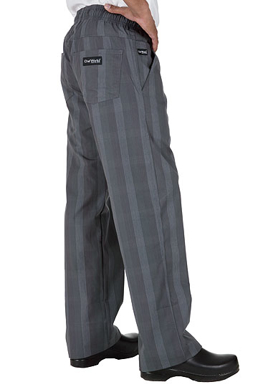 Picture of Chef Works - BPLD-GRY - Gray Plaid Better Built Baggy