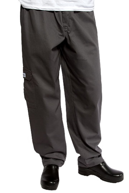 Picture of Chef Works - CPCH - Charcoal Cargo Pant