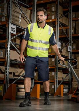 Picture of Syzmik - ZV999 - Unisex Hi Vis Basic Vest