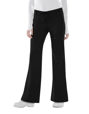 Picture of CHEROKEE- CH-21100-Cherokee Luxe Junior Low Rise Flare Drawstring Pants