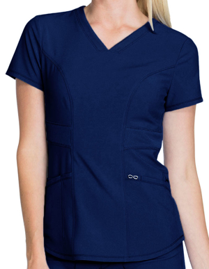 Picture of CHEROKEE- CH-CK623A-Cherokee Infinity Women's V-Neck Scrub Top