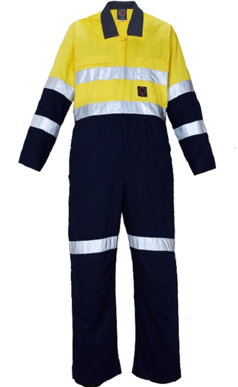 Picture of Ritemate Workwear-RM908CR-2 Tone Coverall