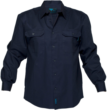 Picture of Prime Mover-MS903-Cotton Drill Shirt