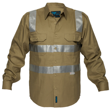 Picture of Prime Mover-MS908-Cotton Drill Shirt