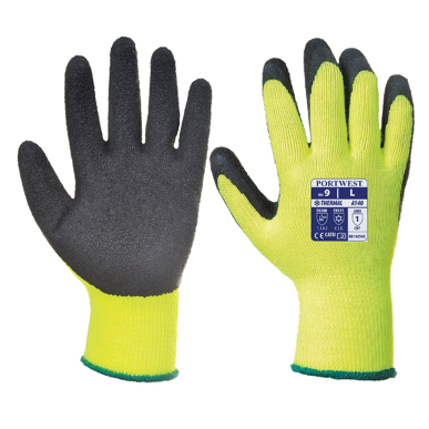 Picture of Prime Mover-A140-Thermal Grip Glove- Latex