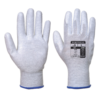 Picture of Prime Mover-A199-Antistatic PU Palm Glove
