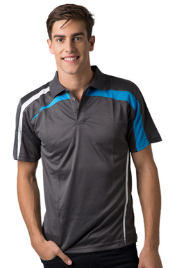 Picture of Be Seen Uniform-BSP2014-Men's  Cooldry Polo