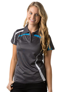 Picture of Be Seen Uniform-BSP2014L-Ladies  Cooldry Polo