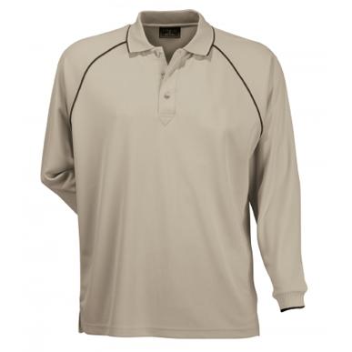 Picture of Stencil Uniforms-1040-Mens L/S COOL DRY POLO L/S POLO