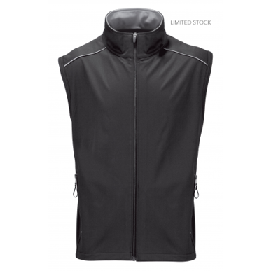 Picture of Stencil Uniforms-3032-Mens Sleeveless SOFTSHELL VEST JACKET