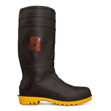 Picture of Oliver Boots-10-100-King's Black Safety Gumboot