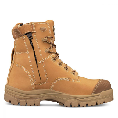 Picture of Oliver Boots-45-632Z-150MM WHEAT ZIP SIDED BOOT