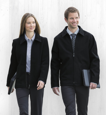 Picture of Gear For Life-WMWJ-Melton Wool Ceo Jacket - Womens