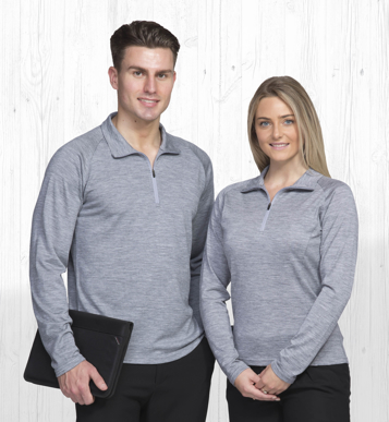 Picture of Gear For Life-WEGMZ-Merino Zip Pullover - Womens