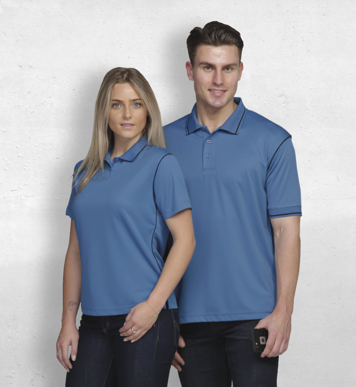 Picture of Gear For Life-WDGHP-Dri Gear Hype Polo - Womens