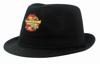 Picture of Headwear Stockist-4279-Fedora Cotton Twill Hat