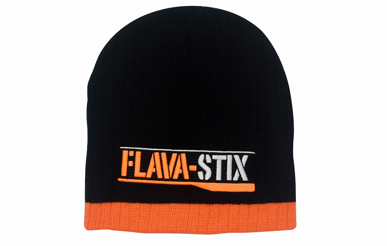 Picture of Headwear Stockist-4195-Two Tone Cable Knit Beanie - Toque