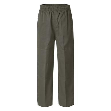 Picture of LW Reid-4805DK-Deniehy Gaberdine Long Pants with Double Knee