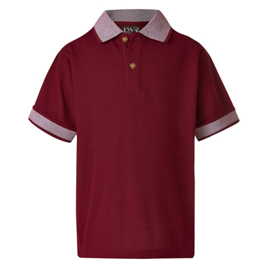 Picture of LW Reid-4220BE-Gould Birds Eye Polo