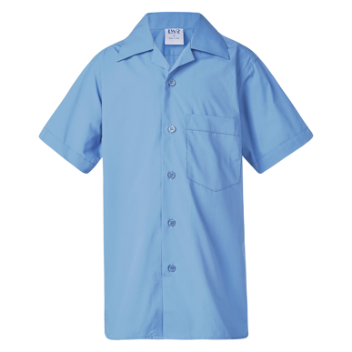 Picture of LW Reid-B4855-Deakin Boys' Short Sleeve School Shirt
