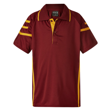 Picture of LW Reid-5914CT-Akhurst Tri-Stripe Sports Polo