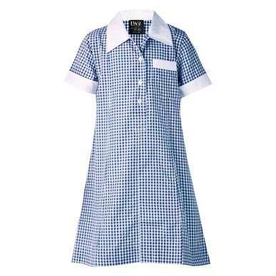 Picture of LW Reid-G3250SD-Cowan Check School Dress
