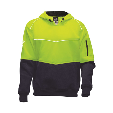 Picture of Mack Workwear -MKALH0002-Xenon 2Tone Hi Vis Polyester Fleece Hoodie
