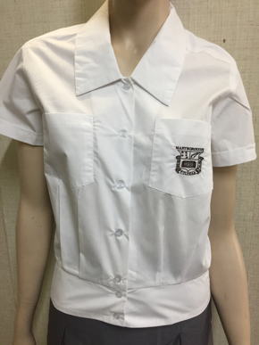 Picture of Maryborough State High Senior Formal Blouse