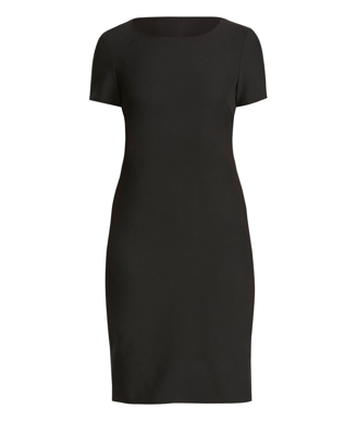 Picture of NNT Uniforms-CAT67A-BLK-Short Sleeve Dress