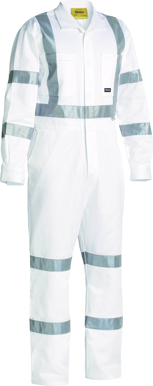 Picture of Bisley Workwear-BC6806T-3M Taped Night Cotton Drill Coverall