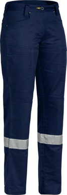 Picture of Bisley Workwear-BPL6474T-Womens X Airflow™ 3M Taped Ripstop Vented Work Pant
