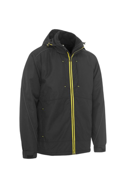 Picture of Bisley Workwear-BJ6943-Flex & Move™ Heavy Duty Wet Weather Dobby Jacket