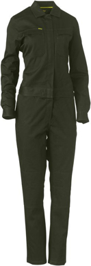 Picture of Bisley Workwear-BCL6065-Womens Cotton Drill Coverall
