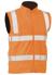 Picture of Bisley Workwear-BV0364T-Taped Hi Vis Rail Wet Weather Vest
