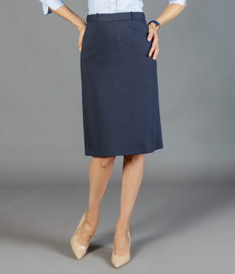 Picture of Gloweave-1725WSK-WOMEN'S A-LINE SKIRT - ELLIOT WASHABLE SUITING