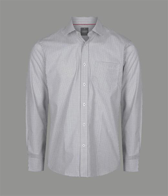 Picture of Gloweave-1895L-MEN'S MICRO CHECK LONG SLEEVE SHIRT - FAWKNER