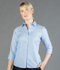 Picture of Gloweave-1025WL-WOMEN'S OXFORD 3/4 SLEEVE SHIRT-OXFORD