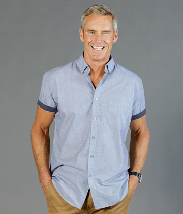 Picture of Gloweave-1253HS-MEN'S END ON END SHORT SLEEVE SHIRT-SMITH