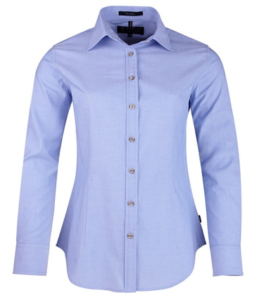Picture of Ritemate Workwear-RMPC006-Ladies Chambray L/S Shirt