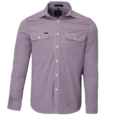 Picture of Ritemate Workwear-RMPC008-Men's L/S shirt, Double Pockets