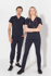 Picture of LSJ collection-550-SP-Ladies fitted stretch scrub top