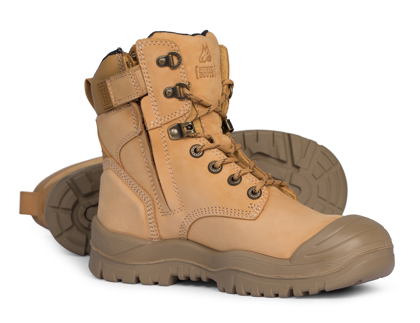 Picture of Mongrel Boots-561050-High Leg ZipSider Boot w/ Scuff Cap