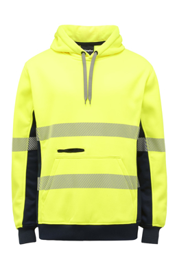 Picture of King Gee-K55054-HI Vis Reflective Pull Over Hoodie