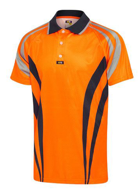 Picture of Visitec-CVPAS-Airwear Charger Polo Short Sleeve