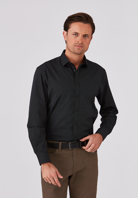 Picture of City Collection-4257 LS-Xpresso Mens Long Sleeve Shirt