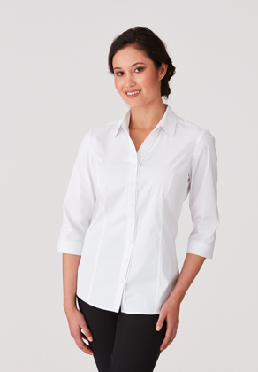 Picture of City Collection-2261-City Stretch Classic 3/4 Sleeve Shirt