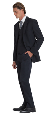 Picture of Corporate Comfort-MSC2-4060-Charles Wool Blend 2 Button Jacket